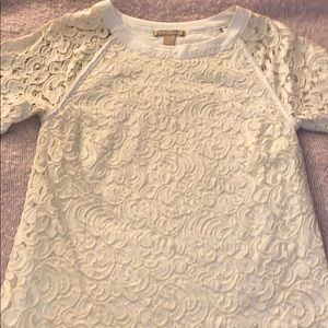 Very Nice Off White Lace Blouse.